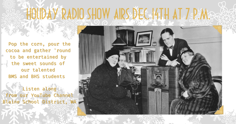 Holiday Radio Show Dec. 14th