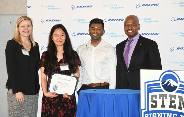 2nd Annual STEM Signing Day at Boeing