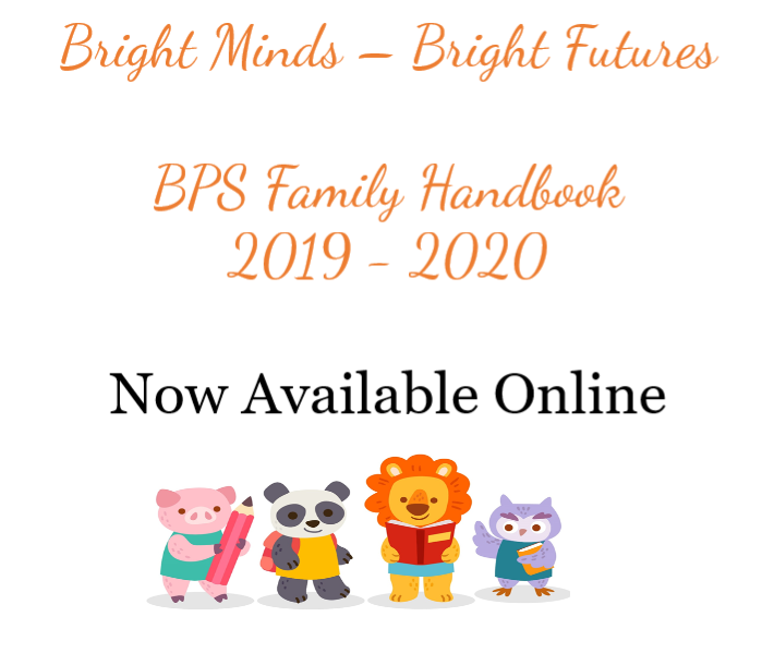 BPS Family Handbook is Here!