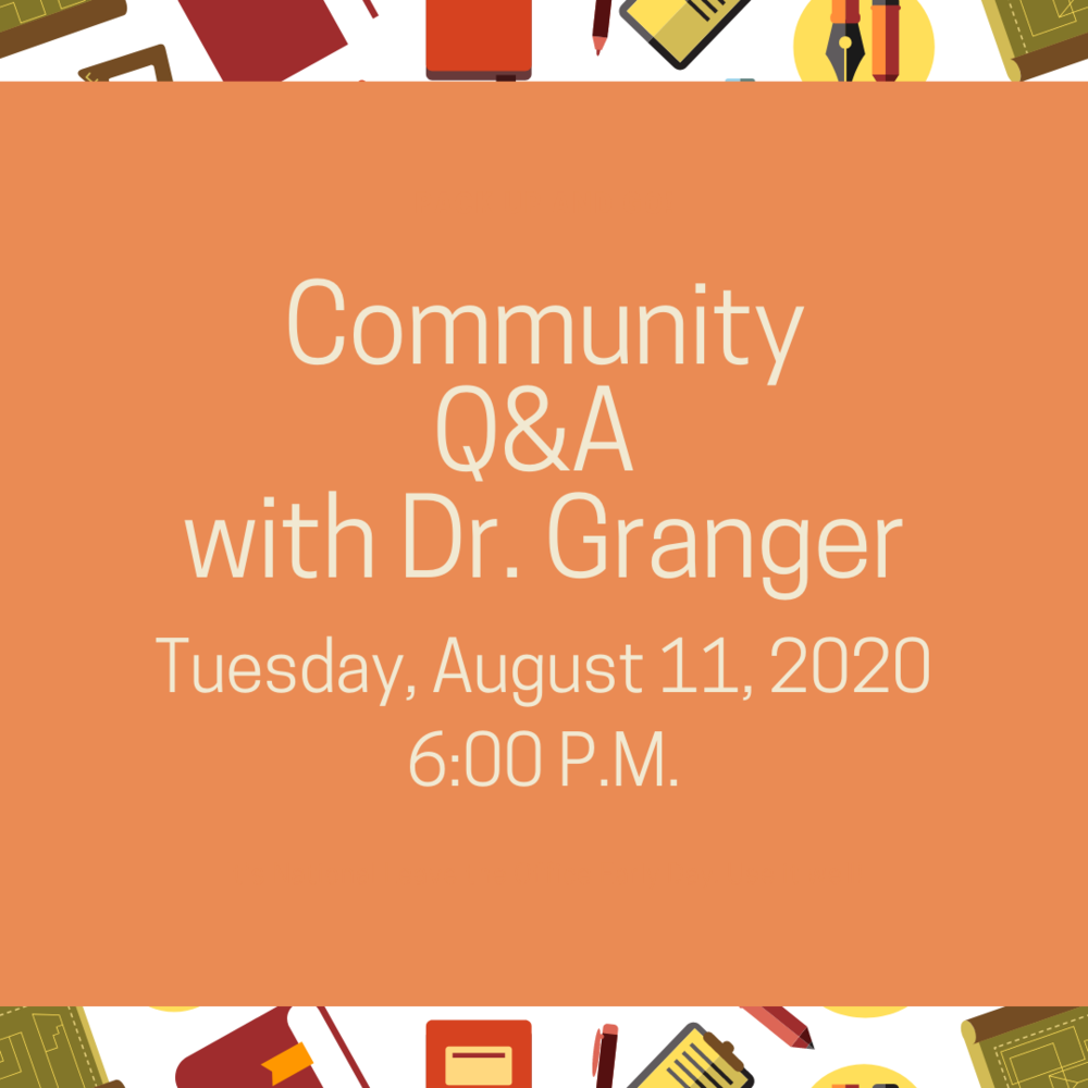 Community Q & A Tuesday, Aug. 11, 2020