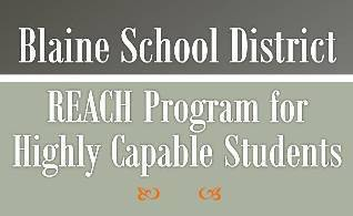 REACH Highly Capable Program Referrals