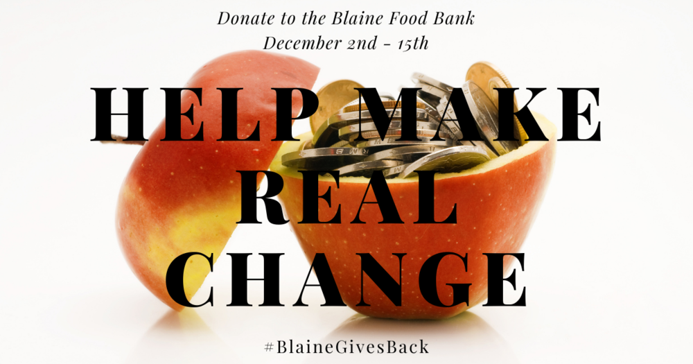 Blaine Gives Back