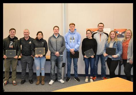 Winter Athletes Recognized for Sportsmanship