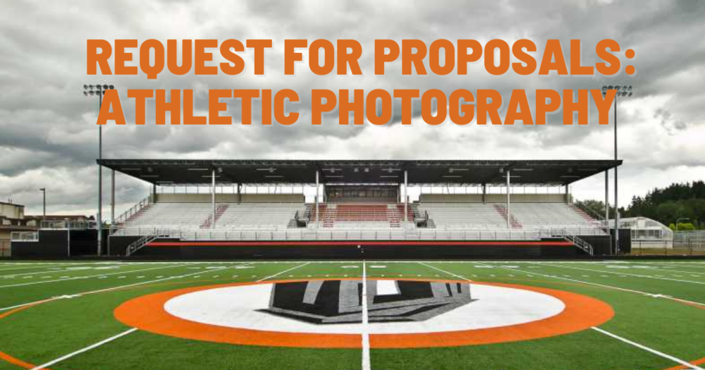 Request for Proposals: Athletic Photography