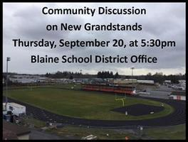 September 20 Community Discussion on New Grandstands