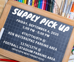 BMS & 11th/12th Supply Pick Up