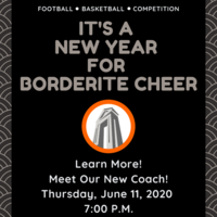 Borderite Cheer Meeting June 11, 2020