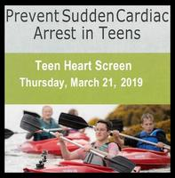 Teen Heart Screening at Blaine High School on March 21st