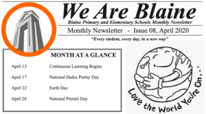 Blaine Primary and Elementary Newsletter