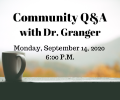 Community Q & A Monday, Sept. 14, 2020