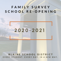 Family Survey for School Re-Opening in 2020-2021