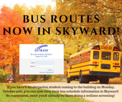 Bus Routes Now in Skyward