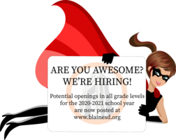 We're Hiring Teachers