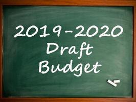 Draft 2019-2020 Budget Available for Review