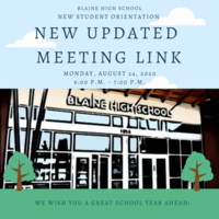 New Meeting Link for BHS Orientation
