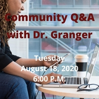 Community Q&A Tuesday, August 18, 2020