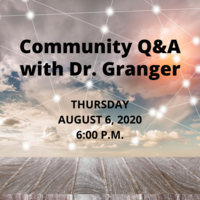 Community Q & A Thursday, Aug. 6, 2020