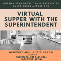 Virtual Supper with Superintendent